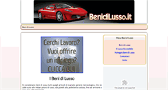 Preview of benidilusso.it